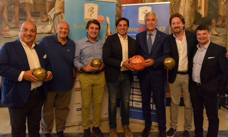 Presentata la Final Eight Scudetto e l'Euro Beach Soccer League